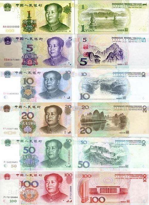 新中国成立以来的人民币版本