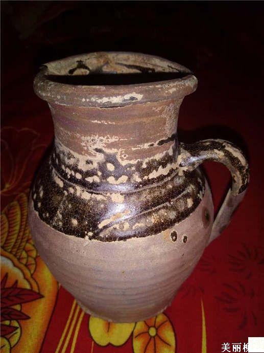 美丽柳州 江边捡的陶罐