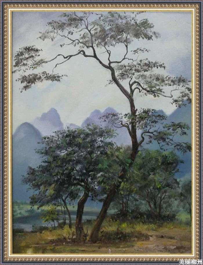 美丽柳州 黄其明教授绘画作品欣赏