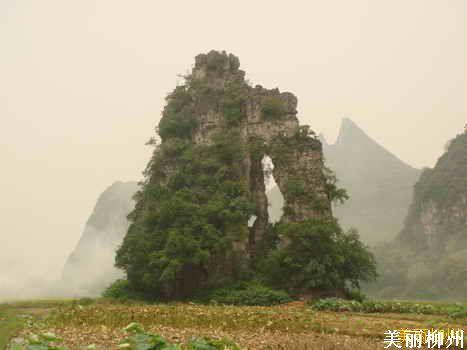 徒步探访柳州酒壶山、覃连芳故居