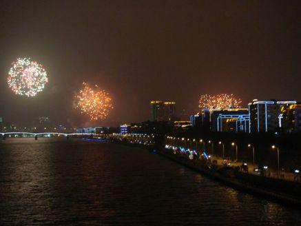 2010年春节柳州的焰火