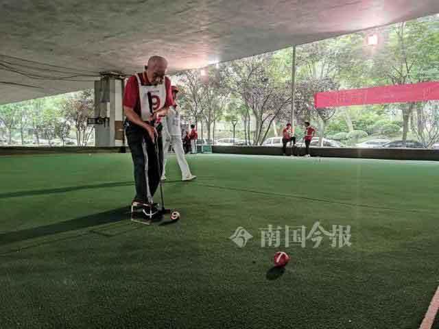 柳州市第十八届职工门球赛开赛 60支队伍参与角逐